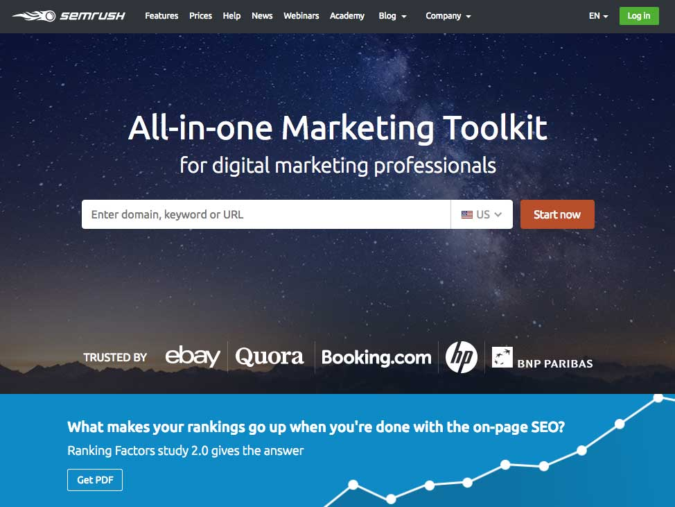SEM Rush is the best SEO tool on the market