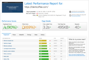 GT Metrix is a free page speed SEO tool