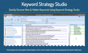 good keywords is a keyword strategy tool