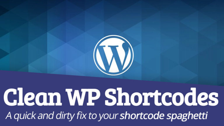 The Quick And Easy Way to Strip WordPress Shortcodes Out of Content